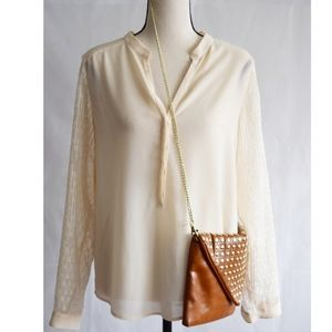 French Connection Creme Blouse